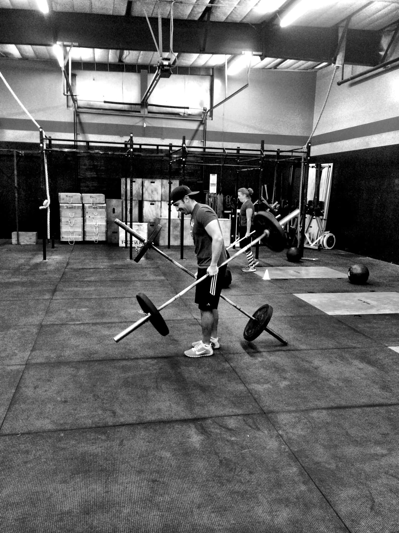 Monday 141103 - CrossFit Evolve